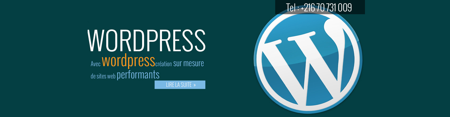 joomla wordpress tunisie